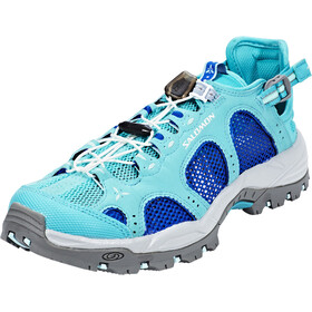 Salomon Techamphibian 3 Shoes Women ceramic/nautical blue/aruba blue